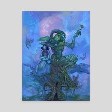 Pan's Labyrinth - Canvas by Odera Igbokwe