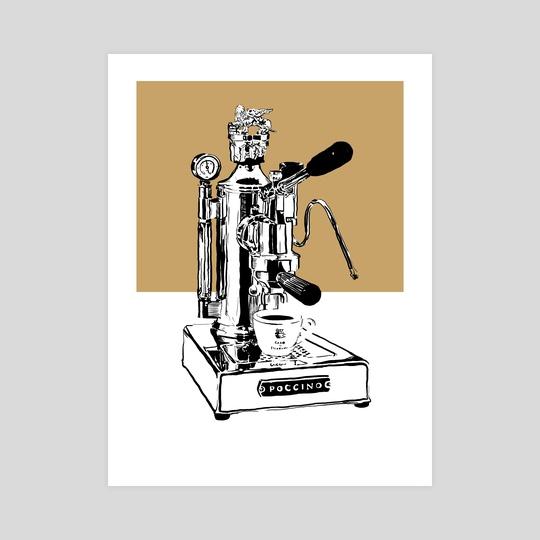 Arte di Poccino Espresso Machine by Aiden James