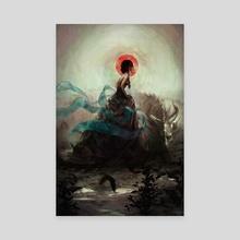 Witchcraft - Canvas by Camila Vielmond