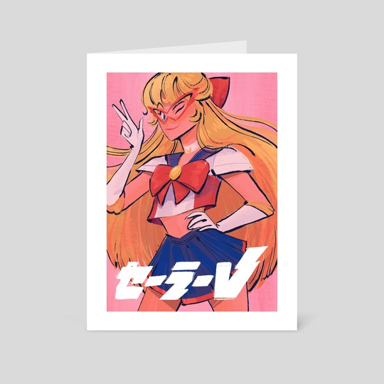 Sailor V! by Rachel Elese