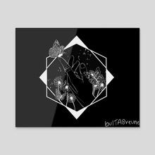 Butterfly dark ver. - Acrylic by bultaoreune | Tyana
