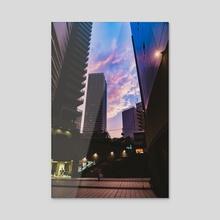 Sunshine City - Acrylic by Isabela Parra