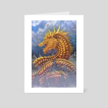 Huang He River Dragon - Art Card by Cerid Ellis