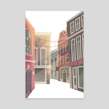 city - Canvas by Ira Khroniuk
