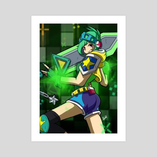 Arcade Riven by Rachel Kong