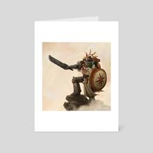 Warrior of Sunlight - Art Card by Ayla Meridian