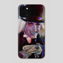 Lon Chaney - The Man in the Beaver Hat - Phone Case by David Robinson