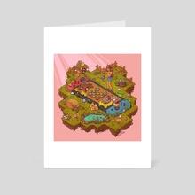 Nintendo Switch Farm - Art Card by Brittnie