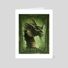 Green - Art Card by Kerem Beyit