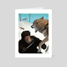 Wolf - Art Card by Sergey  Sorokin