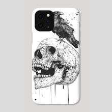 New skull - Phone Case by Balazs Solti