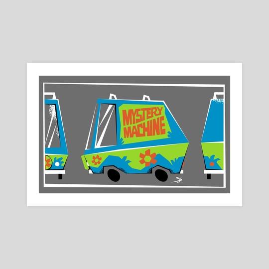 Scooby Doo  Mystery Machine by Shane Houston
