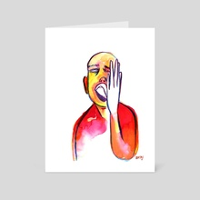 Seriously? - Art Card by Rian Smit