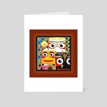 The Holy Triad - Art Card by Anuradha Grover