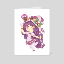 Lulu chibi - Art Card by Øzge Koprulu