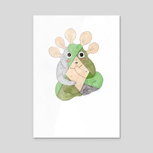Plant creature - Canvas by Galeria Ginkgo