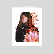 Sophia - Art Card by Rebecca Obst