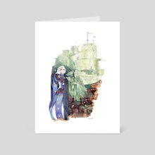 The daughter of the sea   - Art Card by veensa