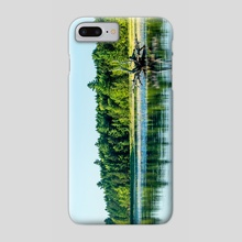 Driftwood Reflection - Phone Case by Alex Tonetti