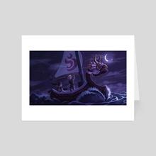 Legend of the Wind Waker - Art Card by Breana Melvin
