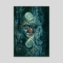Honk - Canvas by Nikolay Davidov