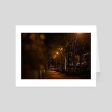 Promenade - Art Card by Jeho-Nephtey Abraham