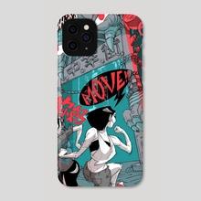 GAN NI MA! - Phone Case by Adam du Shole