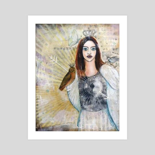 Warrior Queen Courage  by Maureen Nadeau