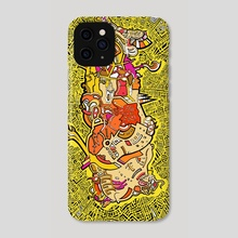 The Deusinausore ! - Phone Case by Julien Trovato