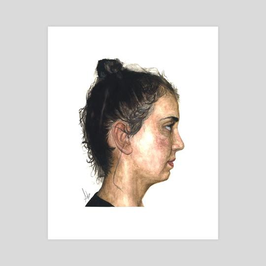 Portrait I - Back in Time by Araceli Quirós Martínez