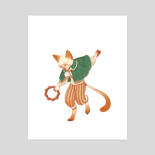 Cat Dance by Rachel Suggs