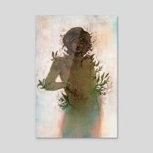 Plant Person - Acrylic by Natalie Gornicki