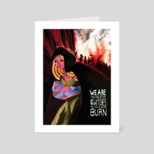 The Witches You Couldn't Burn - Art Card by Dáire  Lawlor