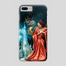 The Citadel of Weeping Pearls - Phone Case by Maurizio Manzieri