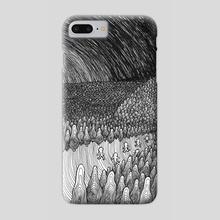when we come back from work (the song of thoughts) - Phone Case by Konstantin Roslyakov