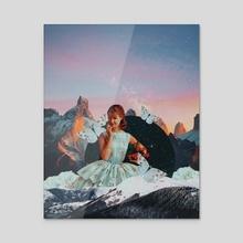 Pisces babe. - Acrylic by Sadie Birchfield Whywake Creative.