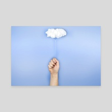 My cloud balloon - Canvas by josemanuelerre