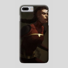 combustion woman - Phone Case by Britney Winthrope