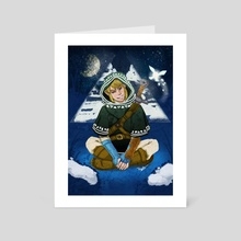 Winter Link - Art Card by Lerryn Johnson