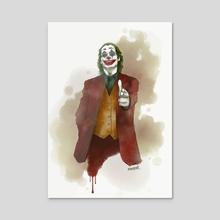 Joker - Acrylic by max@ndr