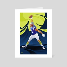 Touch Down - Art Card by New England Sports Academy