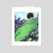 Beginning - Art Card by Kai Brennan