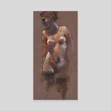 nude - Canvas by Derek Jones