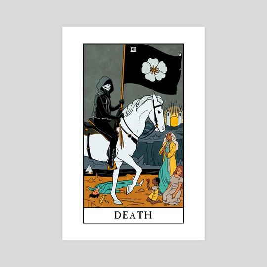 Death - Modern Witch Tarot by Lisa Sterle