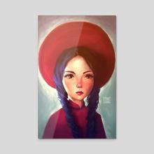 Em - Acrylic by Leanne Huynh