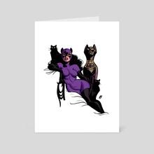 catwoman 93 - Art Card by ImmarArt