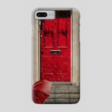 London Door - Phone Case by Valérie KARAKATSANIS