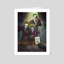There Jokers  - Art Card by ATLANT99