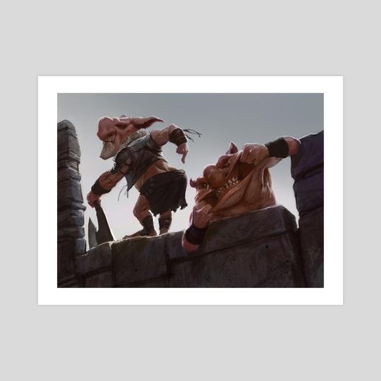 Goblin Diplomat by Izzy Medrano