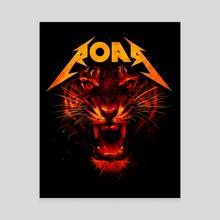 Roar - Canvas by Nicebleed